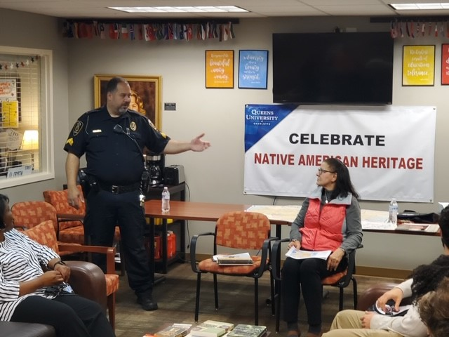 "Sgt. Jones Leads ""Lunch-and-Learn"" for Native American Heritage Month"