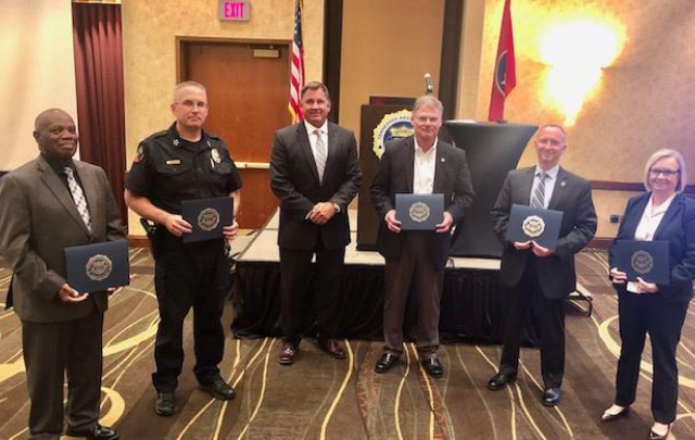 UTPD Chief Receives Statewide Honor for Law Enforcement Excellence