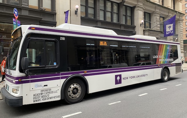 Sustainable Transportation Services at New York University