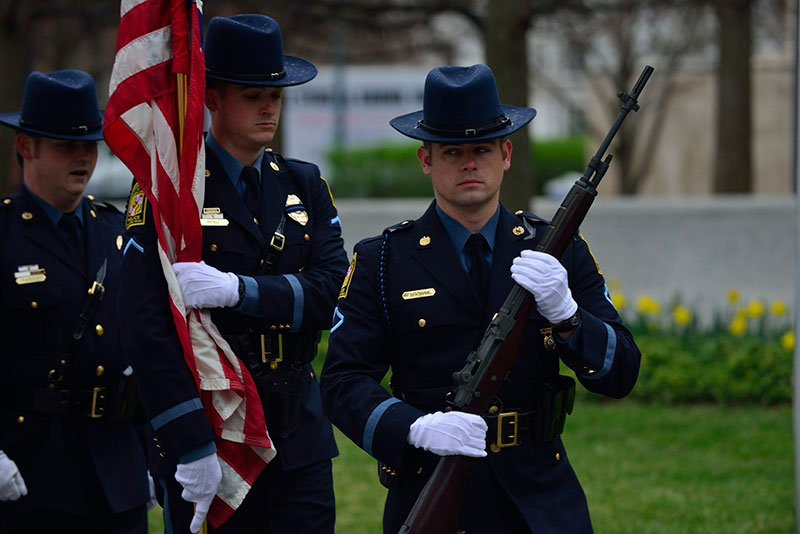Honor Guard rifleman