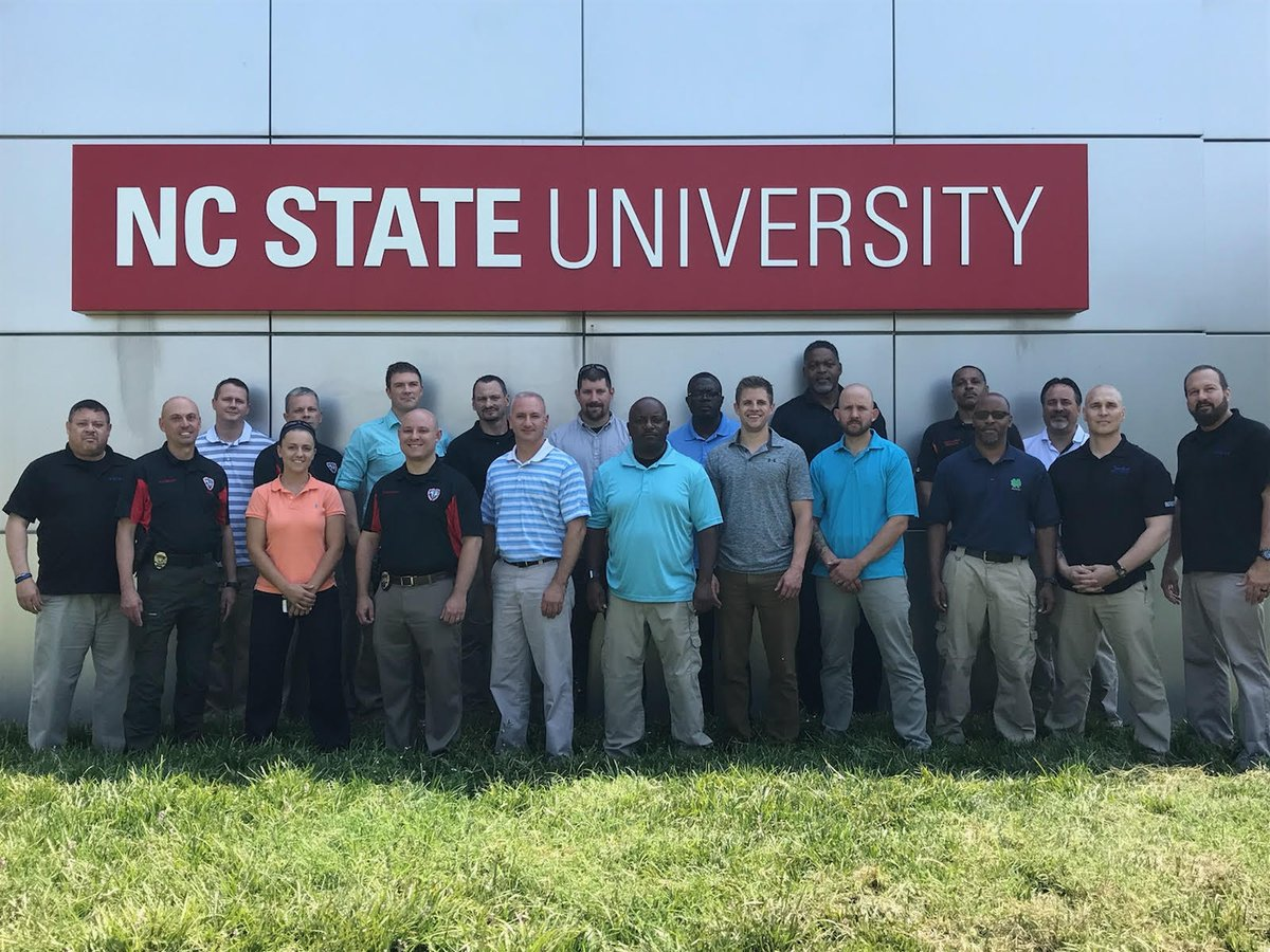 NC State PD Hosts Valuable De-escalation Training Funded by CRI-TAC