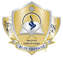 Blue Courage image
